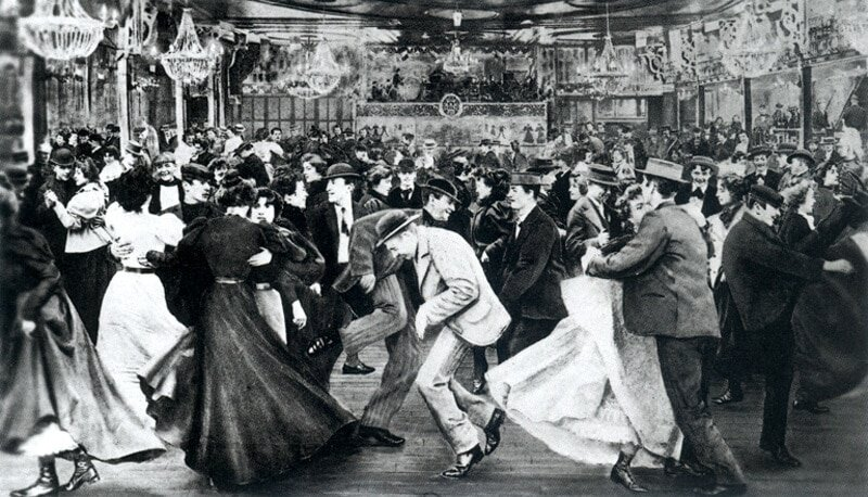 Immigrants Dancing and Booze