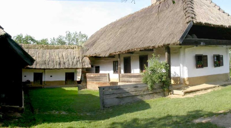 Traditional Hungarian House 1800s